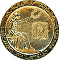 Vermeil medal for Chicagopex 2006 in literature competition. Click to view the ribbon.