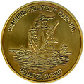 Vermeil medal for Colopex 2005 in literature competition. Click to view the ribbon.