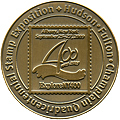 Gold medal for Hudson-Fulton-Champlaign 400 2009 in literature competition. Click to view the ribbon.